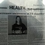 Melinda Warner was featured in The Bryan Times (Ohio)
